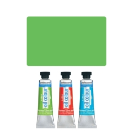 Farba olejová JUNIOR 45 ml permanentná svetlo zelená 425