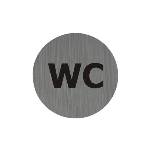 Piktogram 7,5 cm - WC