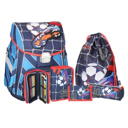 School bag - 5-piece set, START Football No. 10