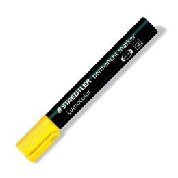 """Permanentný popisovač, 2 mm, kuželový hrot, STAEDTLER """"Lumocolor 352"""", žltý"""