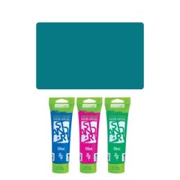 Akrylová farba JUNIOR 120 ml tyrkysová 560