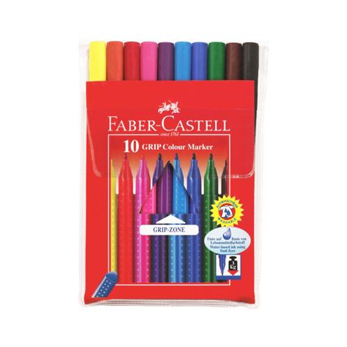 Fixy Faber-Castell Grip - sada 10 ks