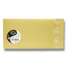 Obálka CF - DL zlatá samolep. 120g (20ks)