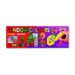Farba na sklo KOH-I-NOOR sada 10 ks, 9x22 ml + 1x40 ml