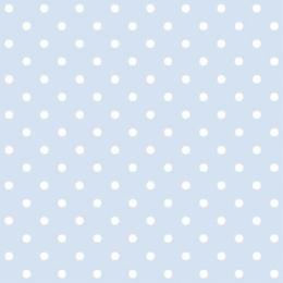 Obrúsky PAW L 33x33cm Dots Light Blue