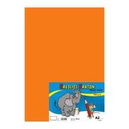Výkres školský A2 180g / 10 listov oranžový