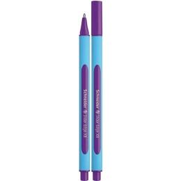 """Guľôčkové pero SCHNEIDER """"Slider Edge XB"""", 0,7 mm, s uzáverom, fialové"""
