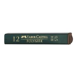 Grafitové tuhy FABER-CASTELL HB / 0,5 mm, 12 ks