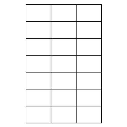 Etikety PRINT A4/100 ks, 70x42,4 - 21 etikiet, biele