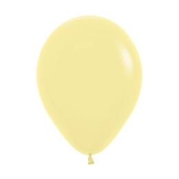 Balón Pastel 28 cm, banánový /100ks/