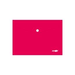 Obal s patentkou PP/A5, červený