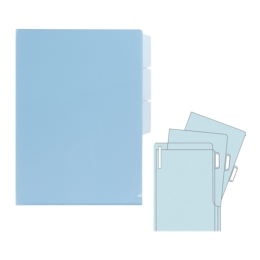 Obaly sada 5 ks  FL100CH modrý
