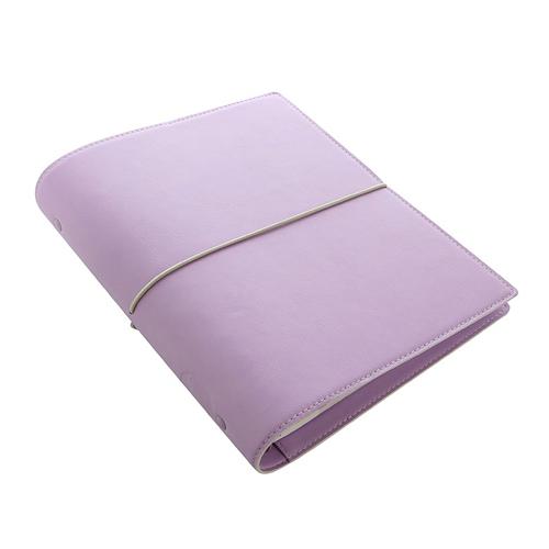 Diár Filofax A5 Domino Soft - pastelovo fialový