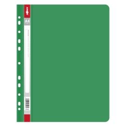 Rýchloviazač s europerforáciou PP/A4, zelený