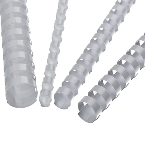 Hrebene plastové 25 mm biele