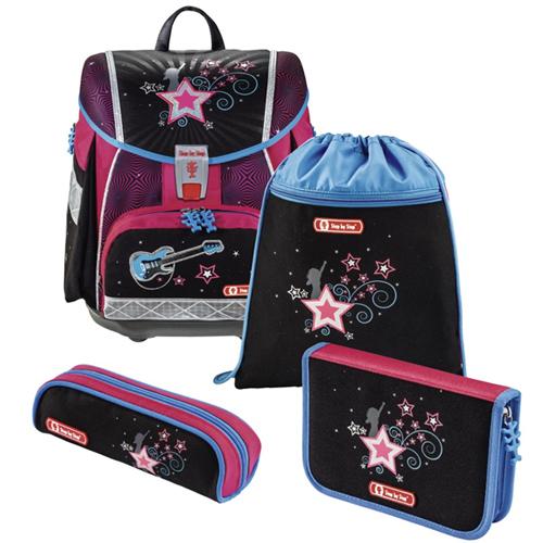 Školská taška - 4-dielny set Step by Step TOUCH 2, Popstar