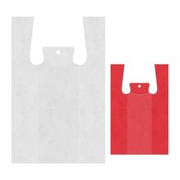 Tašky HDPE Jumbo košieľkové 68 x 33 x 21 cm bal. 50 ks mix farieb