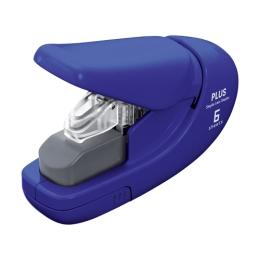 Plus Paper Clinch Stapler mini 106AB (6 sheet) blue
