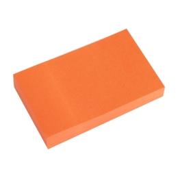 Blok lep. NEON 50 x 76 mm oranžový
