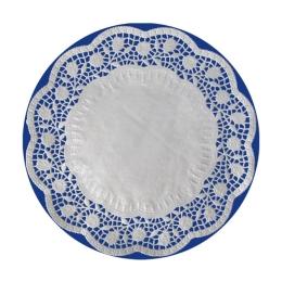 Krajky dekor. okrúhle 16 cm (100 ks v bal.)