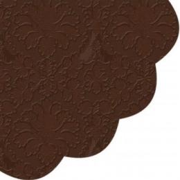 Obrúsky PAW R 32 cm Inspiration Perforated Brown