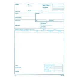 Faktúra - daň. doklad A4, samoprepis (20)