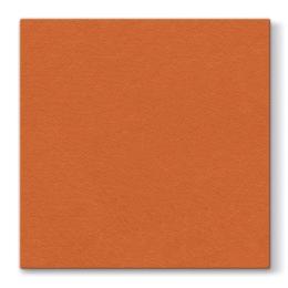 Obrúsky PAW AIRLAID L 40x40cm Unicolor Orange