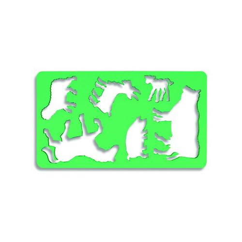 Šablóna zvieratko KOH-I-NOOR, 1 - Koník
