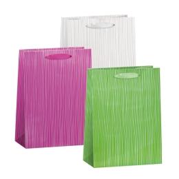Darčeková taška celoročná T8 One Color + Hot Print, mix