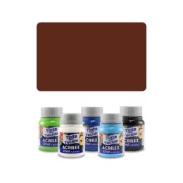 ACR Farba na textil 37ml, brown