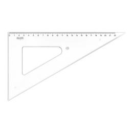 Trojuholník KOH-I-NOOR transparentný, 22 cm