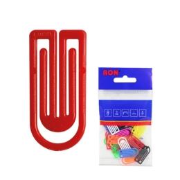 Listové spony plastové 631, oblá, 27 mm (10ks)