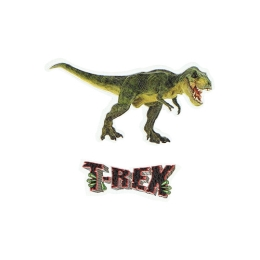 Sticker na tašku Dinosaur/T-Rex, sada 2 ks