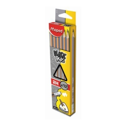 "Ceruzka grafitová MAPED ""BLACK'PEPS"" 2H s gumou 1ks"