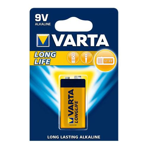 """Batéria """"Longlife Extra"""" 6LR61, 9V,E, 1 ks"""