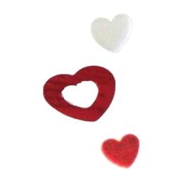 Konfety lesklé Srdce 15 g