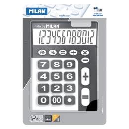 Kalkulačka MILAN stolová 12-miestna 150912 čierna