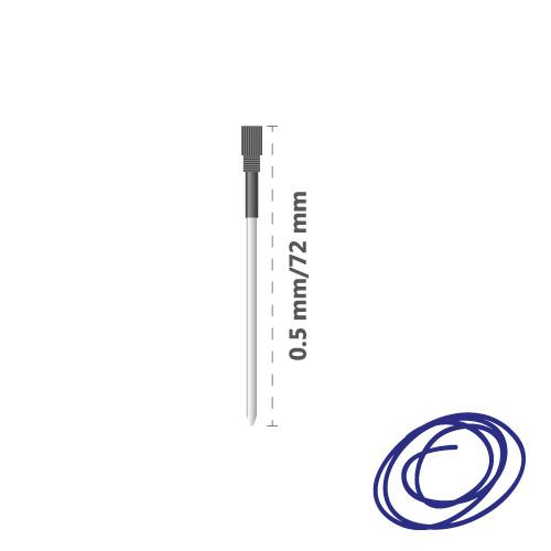 Náplň kovová Crystal Touch 0,5 mm - modrá
