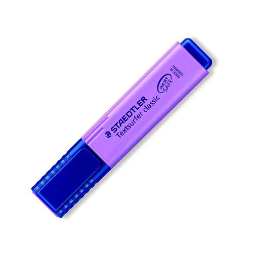 Zvýrazňovač, 1-5 mm, STAEDTLER, fialový