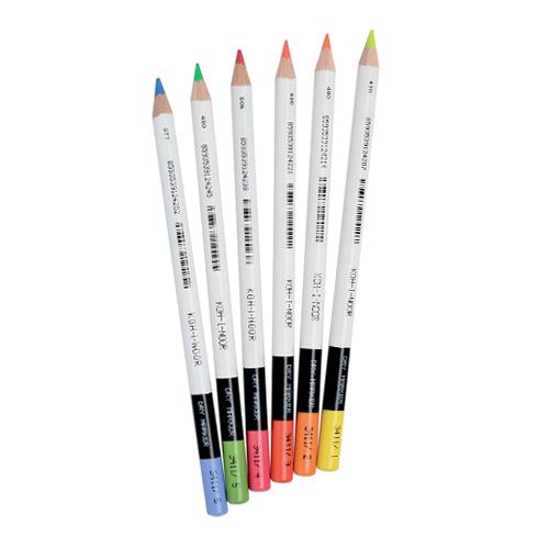 Súprava ceruziek - zvýrazňovačov KOH-I-NOOR sada 6 ks