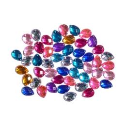 Dekoračné kamienky mix farieb, sada 50 ks