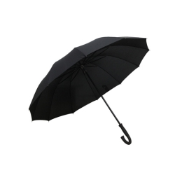 Dáždnik Gentleman palicový, čierny
