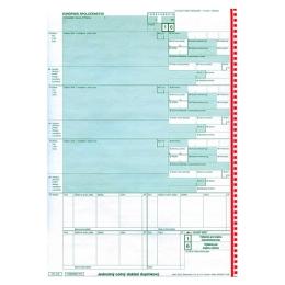 Jednotný colný doklad JCD COL 206 A4 - samoprepisovací (92)