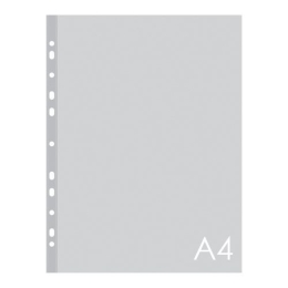 Euroobal A4 45 µm transparentný, leskly 100 ks