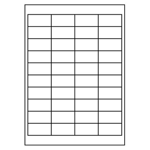 Etikety PRINT A4/100 ks, 48,5x25,4 - 40 etikiet, biele