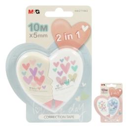 Korektor páska M&G Lovely Day /5 mm x 10 m/, sada 2 ks