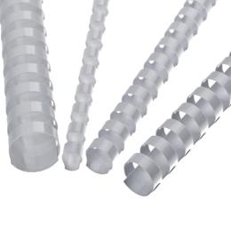 Hrebene plastové 6 mm biele