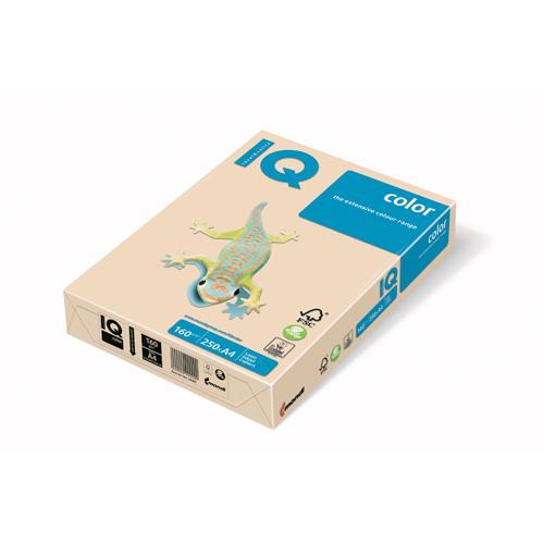 Kopírovací papier A4 IQ 160g color krémový
