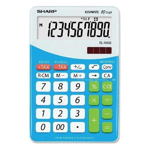 Kalkulačka stolová SHARP EL-M332B-BL