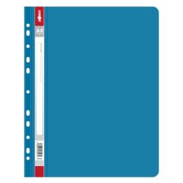 Rýchloviazač s europerforáciou PP/A4, modrý